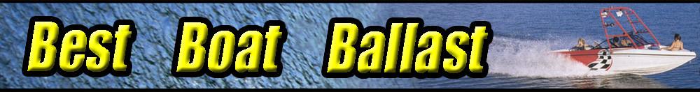 Best Boat Ballast